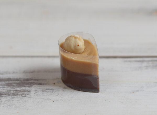 krémcsepp / mogyoró-karamell